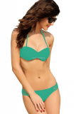 Plavky Cut-out Strappy Green